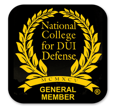 Image of Admission to the National College of DUI Defense